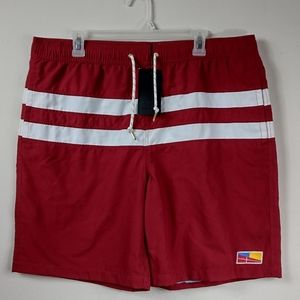 Five Four 38 Red ferry classic swimming trunks